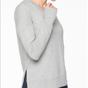 Athleta Coaster Luxe Sweatshirt; size small
